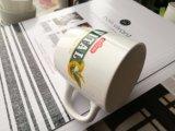 Chaud-Vente de la cuvette de thé essentielle de porcelaine blanche brillante pour la promotion