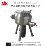 Mezclador del lavabo con el material del acero inoxidable
