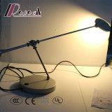 Traditionelles Kopfende, das MetallCircleshape LED Tisch-Beleuchtung verdunkelt