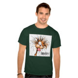人の綿によって印刷されるTシャツ
