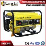 2500W 2.5kw 2.5kVA Astra Korea beweglicher Energien-Benzin-Treibstoff-Generator
