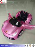 Ride on Battery Operated Baby Car avec 12V Clignotant Roues Open Door