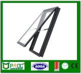 Het Enige Gehangen Venster van het aluminium met Dubbel Glas