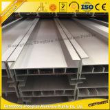 Piezas de aluminio de la pared de cortina de la alta calidad con el perfil de aluminio de la configuración