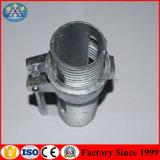 Il puntello d'acciaio registrabile parte gli accessori per tubi della noce del manicotto con il filetto