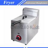 Matériel pour la friteuse profonde de gaz de Rapide-Nourritures (CHZ-10L)