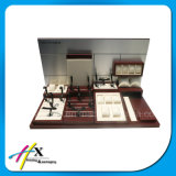Banco di mostra di legno acrilico su ordinazione della vigilanza di mostra di stile di modo