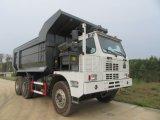 70t 덤프 트럭, 채광 팁 주는 사람 트랙터 트럭