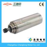eje de rotación de alta velocidad de la CA de la refrigeración por agua 24000rpm 4.5kw para el ranurador del CNC
