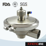 Alimentación de fluido de control de nivelación Válvula de acero inoxidable (JN-1005)