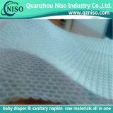 Nonwoven gravant en relief de la qualité 3D pour la couche-culotte Topsheet de bébé