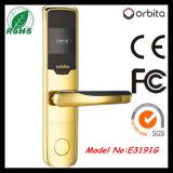 Fechamento de porta E3091g do hotel da chave de cartão do aço inoxidável RFID de Orbita