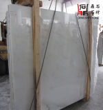 Сляб китайского нефрита Danba начала естественного каменного белый мраморный для строительного материала
