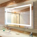 La vanità Frameless dell'hotel ha smussato gli specchi illuminati stanza da bagno illuminati LED
