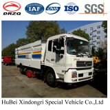 7cbm Dongfeng Dry Type Road Sweeper Wash Truck