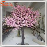 주문을 받아서 만들어진 섬유유리 장식적인 인공적인 벚꽃 나무