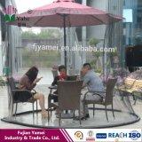 Écran réglé de Tableau de parapluie de Chambre d'écran de Pation d'écran de moustiquaire de parapluie