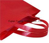 Bolso de totalizador no tejido del rojo con talla modificada para requisitos particulares