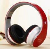 Auscultadores estereofónicos da Sobre-Orelha sem fio de Bluetooth sem fio/auriculares prendidos com microfone