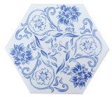 200X230 blaue und weiße Porzellan-Fliese Bedqhc001