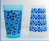 [إك] قابل للاستعمال تكرارا [سمووثي] بيع بالجملة يستعصي [بّ] فنجان بلاستيكيّة ([بك-بك1004])