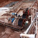 linha de lavagem da tela de vibração da areia 30t/H para a maquinaria de mineração