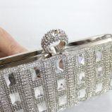 rhinestone Glittering Handmade 핸드백 다이아몬드 수정같은 형식 호화스러운 숙녀 이브닝 백