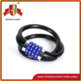 Fahrrad-Verschluss-Motorrad-Kennwort-Verschluss der schwarzen Farben-Jq8305 haltbarer