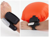 Unità leggera del sussidio di galleggiabilità dell'acqua di Rescure dell'unità del Wristband portatile portabile del galleggiante per i capretti adulti che annegano con l'unità sicura della cassaforte di nuoto di Gasbag gonfiabile