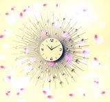 Часы стены металла провода фабрики оптовые