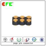 Goldplatten-federgelagerter Steckerstift mit Hochtemperaturplastik