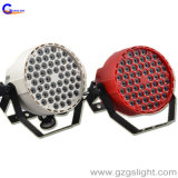 La IGUALDAD de interior del plástico 54PCS*1W LED puede encenderse con efecto de la colada