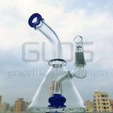 8 pollici - la LIMANDA alta dell'olio della coppa attrezza il tubo di acqua di vetro