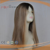 Parrucca bionda lunga eccellente dei capelli non trattati di Remy dei capelli umani di 100%
