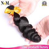 Tecelagem brasileira do cabelo humano do cabelo 100% (QB-BVRH-LW)