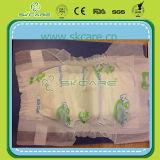 Продукты младенца пеленок младенца волшебного листа задней части хлопка ленты толщиные