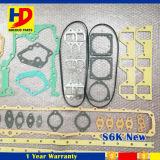 Nuevo tipo kit lleno de S6k de la junta para las piezas del motor del excavador