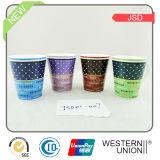 V-Shape Color Glazed Coffee Mug em New Bone