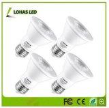 Het Dimmable Aangegane LEIDENE Licht van het PARI voor Binnenlandse Verlichting met E26 9W 12W 15W 18W 20W PARI 20 PAR30 PAR38