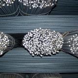Barra d'acciaio deforme rinforzante ad alta resistenza (tondo per cemento armato 25-40mm)