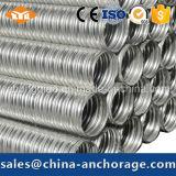 Различные типы трубопровод металла Corrugated для Prestressed конструкций