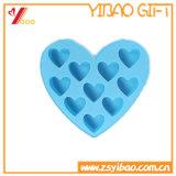 Whosale 21 Zellen-kundenspezifisches buntes Silikon-Eis-Würfel-Tellersegment/Eis-Hersteller