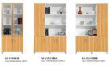 Ficheiro de madeira moderno da parede do escritório da mobília
