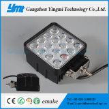 Lumière automatique fonctionnante imperméable à l'eau de travail des lampes DEL du grand dos 48W