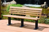 WPCの緑の物質的な公園のベンチ