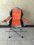 El metal ajusta la silla que acampa plegable del ocio