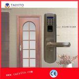Bloqueo de puerta sin hilos incombustible de la huella digital para el bloqueo de la maneta de la casa