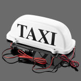 تاكسي سيدة سقف خندق ضوء مصباح مع سيجارة صندل مقبس تجويف