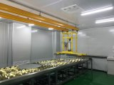 Стеклянные пневматические чашки всасывания вакуума Dl450