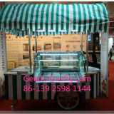 O PNF do carro de Gelato Refrigerated indicadores